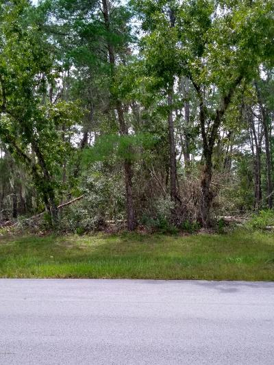 Ocala Residential Lots & Land For Sale: Tba Marion Oaks Manor