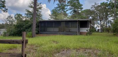 Williston FL Mobile/Manufactured For Sale: $42,500