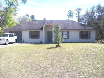 Ocala Single Family Home For Sale: 15845 26th Court