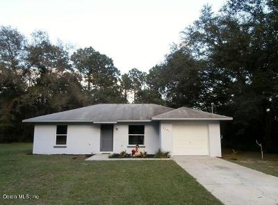 Marion County Single Family Home For Sale: 5671 SW 206 Avenue