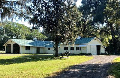 Reddick Farm For Sale: 5557 NW 165th St Street