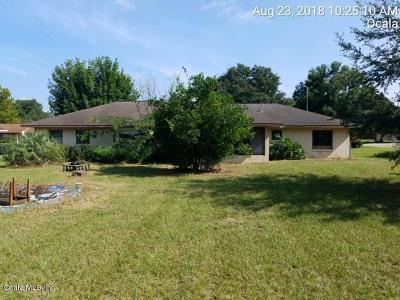 Ocala Single Family Home For Sale: 4114 SE 61st Place
