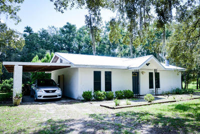 Citrus County Single Family Home For Sale: 8777 S Nelson Point