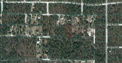 Dunnellon FL Residential Lots & Land For Sale: $13,900