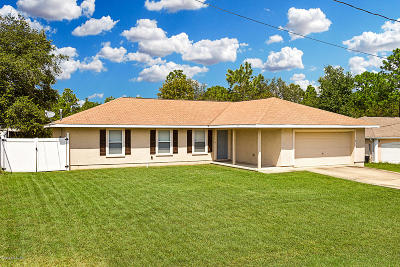 Ocala Single Family Home For Sale: 9 Hemlock Loop Run