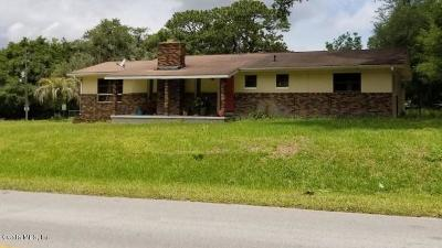 Marion County Single Family Home For Sale: 14981 SE 105th Ct