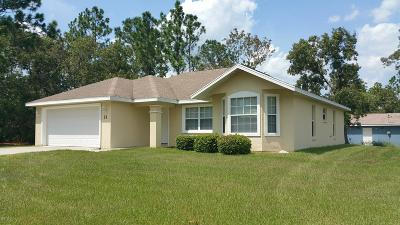 Ocala Single Family Home For Sale: 21 Pecan Pass Run