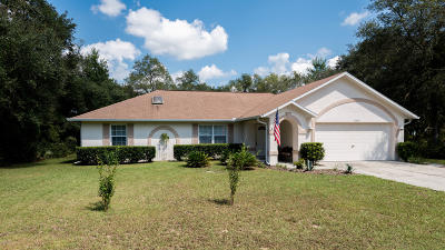 Ocala Single Family Home For Sale: 13649 SW 40th Circle