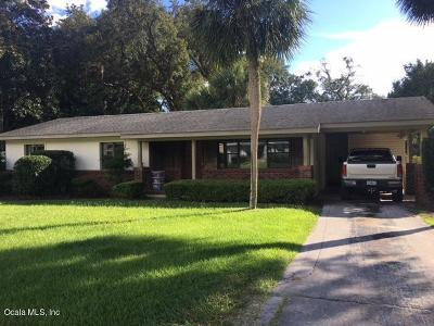 Ocala Single Family Home For Sale: 3318 SE 3rd Street