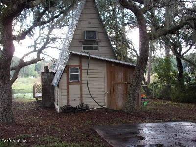 Salt Springs FL Single Family Home For Sale: $29,500