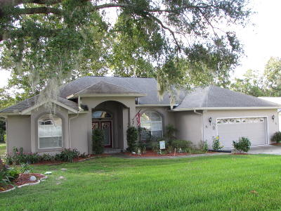 Ocala FL Single Family Home For Sale: $199,500