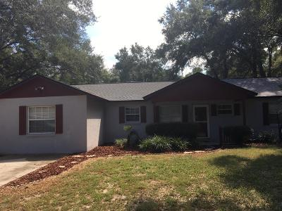 Ocala FL Single Family Home For Sale: $135,000