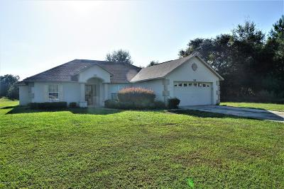 Ocala Single Family Home For Sale: 559 Marion Oaks Lane
