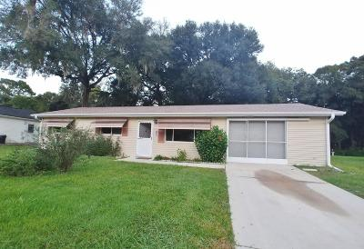 Ocala Single Family Home For Sale: 10821 SW 77th Court