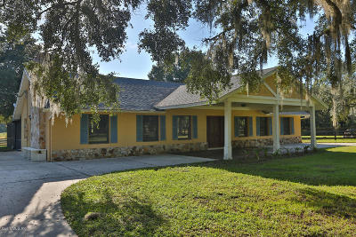 Reddick Single Family Home For Sale: 15315 NW 115th Court