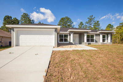 Ocala Single Family Home For Sale: 13190 SW 70th Ct Court