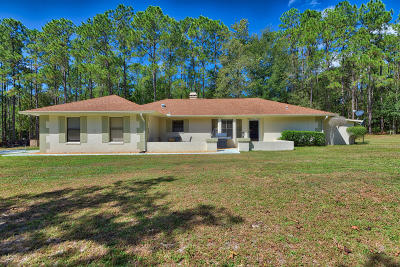 Dunnellon Single Family Home For Sale: 9000 SW SW 206th Court Road Road