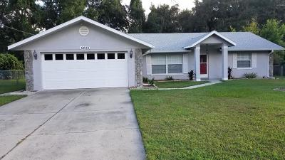 Belleview Single Family Home For Sale: 5400 SE 127th Place