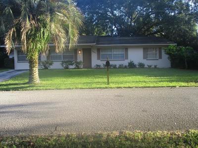 Ocala Single Family Home For Sale: 2841 SE 7th Street Street
