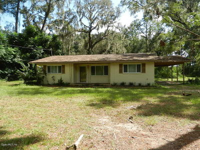 Belleview Single Family Home Pending: 6740 SE 119th Street