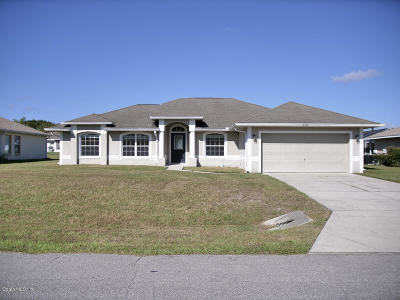 Ocala Single Family Home For Sale: 6574 SW 62nd Court
