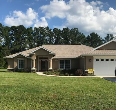 Dunnellon Single Family Home For Sale: 11845 N Bluff Cove Path