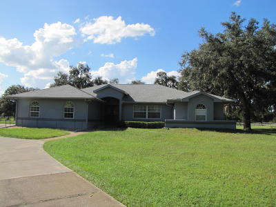 Williston Single Family Home For Sale: 18300 NW 150th Avenue