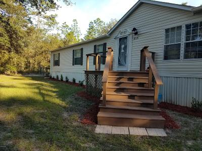 Mobile/Manufactured For Sale: 18520 SW 51 Lane