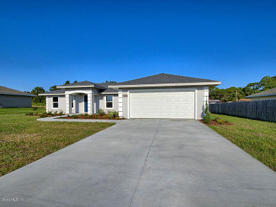 Belleview Single Family Home For Sale: 12374 SE 101st Court