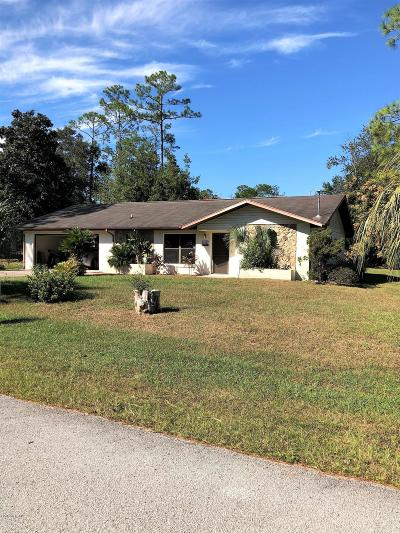 Dunnellon Single Family Home For Sale: 21385 SW Peach Blossom Street