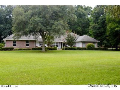 Ocala Farm For Sale: 1795 NW 114 Loop