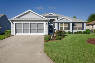 The Villages Single Family Home For Sale: 1256 Camero Drive