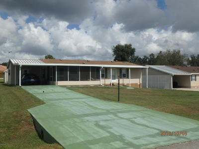 Belleview Mobile/Manufactured For Sale: 13308 SE 49th Court