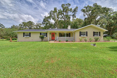 Ocala Single Family Home For Sale: 8851 SW 19th Ave Road