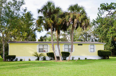 Homosassa Single Family Home For Sale: 6235 W Grant Street