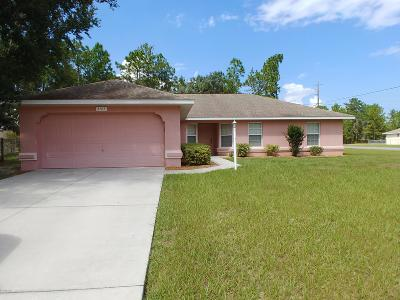 Marion Oaks North, Marion Oaks South, Marion Oaks Rnc Single Family Home For Sale: 5101 SW 157th Street