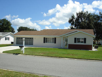 Spruce Creek So Single Family Home For Sale: 17563 SE 96th Court