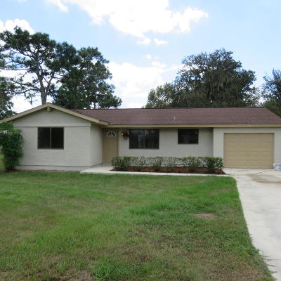 Ocala Single Family Home For Sale: 547 Silver Crs Court