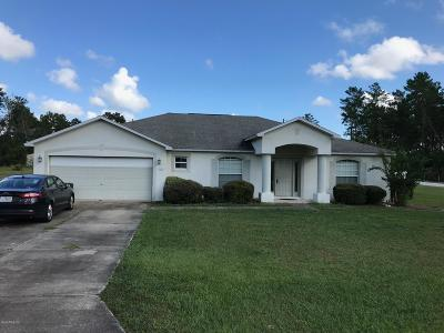 Ocala Waterway Single Family Home For Sale: 3823 SW 109th Lane