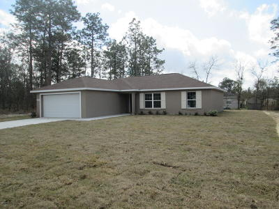 Marion Oaks North, Marion Oaks South, Marion Oaks Rnc Single Family Home For Sale: 7630 SW 132nd Place