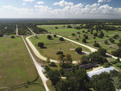 Ocala Farm For Sale: 2001 NW 110th Avenue
