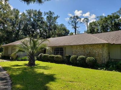 Ocala Single Family Home For Sale: 5520 NE 2nd Lane