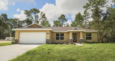 Summerfield FL Single Family Home For Sale: $196,900