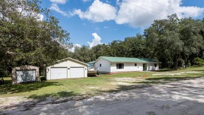 Dunnellon Single Family Home For Sale: 17961 SW 39th Street