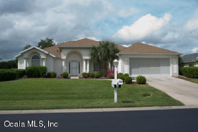 Ocala Palms Single Family Home For Sale: 2238 NW 51st Terrace