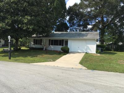 Ocala FL Single Family Home For Sale: $119,000