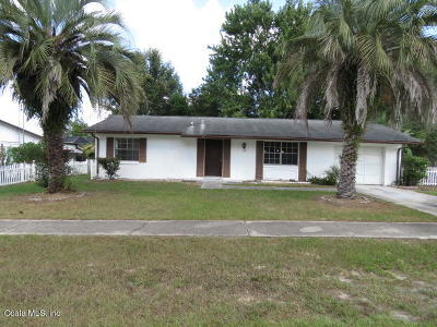 Marion Oaks North, Marion Oaks South, Marion Oaks Rnc Single Family Home For Sale: 3715 SW 148th Place