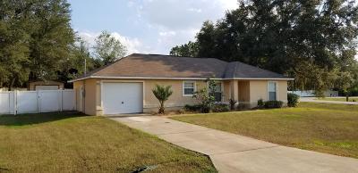 Ocala Single Family Home For Sale: 2 Cedar Pass