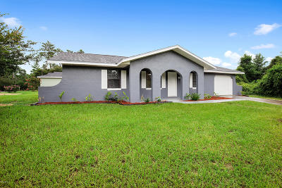 Marion Oaks North, Marion Oaks South, Marion Oaks Rnc Single Family Home For Sale: 2460 SW 158th Street Road