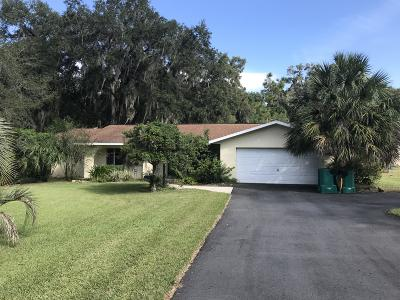 Citrus County Single Family Home For Sale: 1824 Kimberly Lane